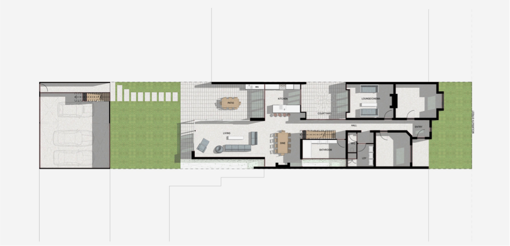 ALterations and addtions to existing residence, Princes Hill