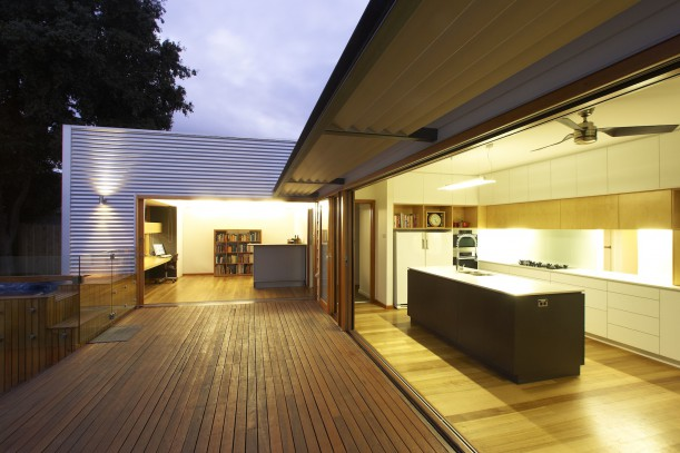 Turning a home around to engage with northern light and garden aspect