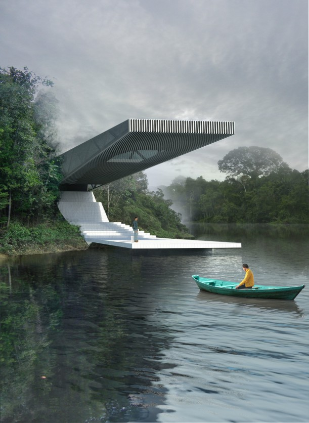 Competition entry for Nature Observatory of Amazonia by Nicola Bowman and Cameron Suisted