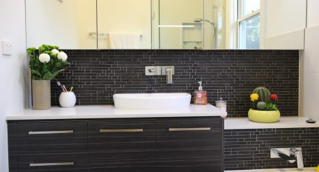 New bathroom: Interior alterations and additions to existing residence, Alphington
