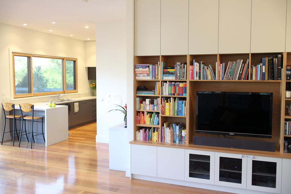Captivating New Kitchen And Living Room Joinery: Alterations To Existing Family  Residence, Alphington.