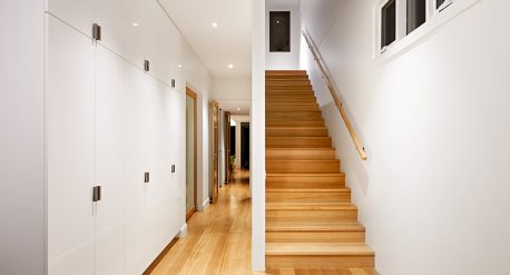 An open light extension to an existing single home
