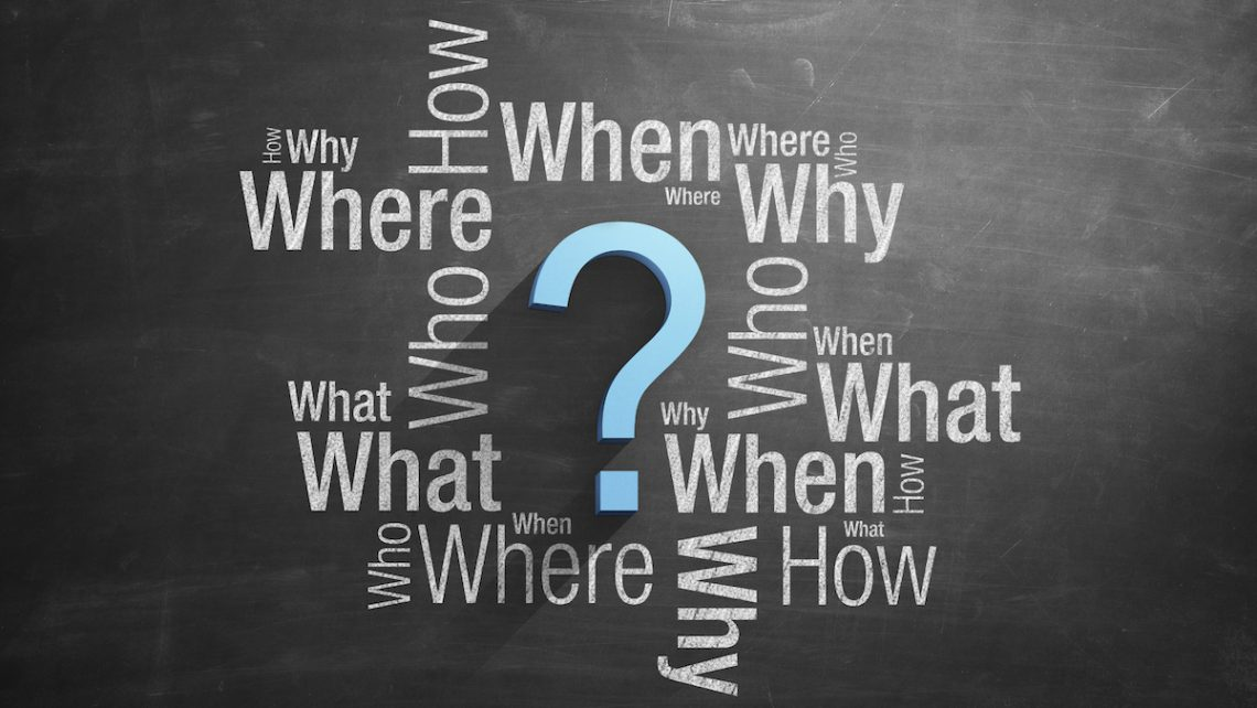 When, where, how, and why