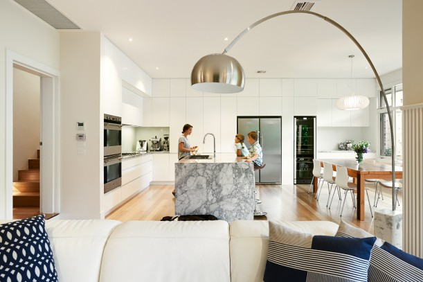 Renovations and additions to existing heritage home in North Fitzroy/ Clifton Hill