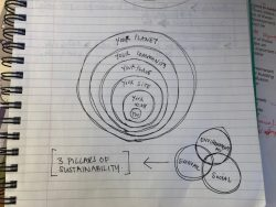 Concentric circles of sustainability