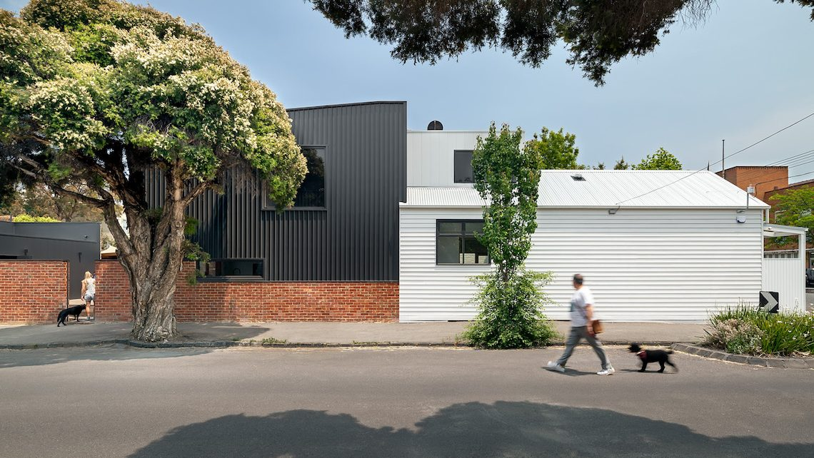 The Black Beauty House, by Cathi Colla Architects